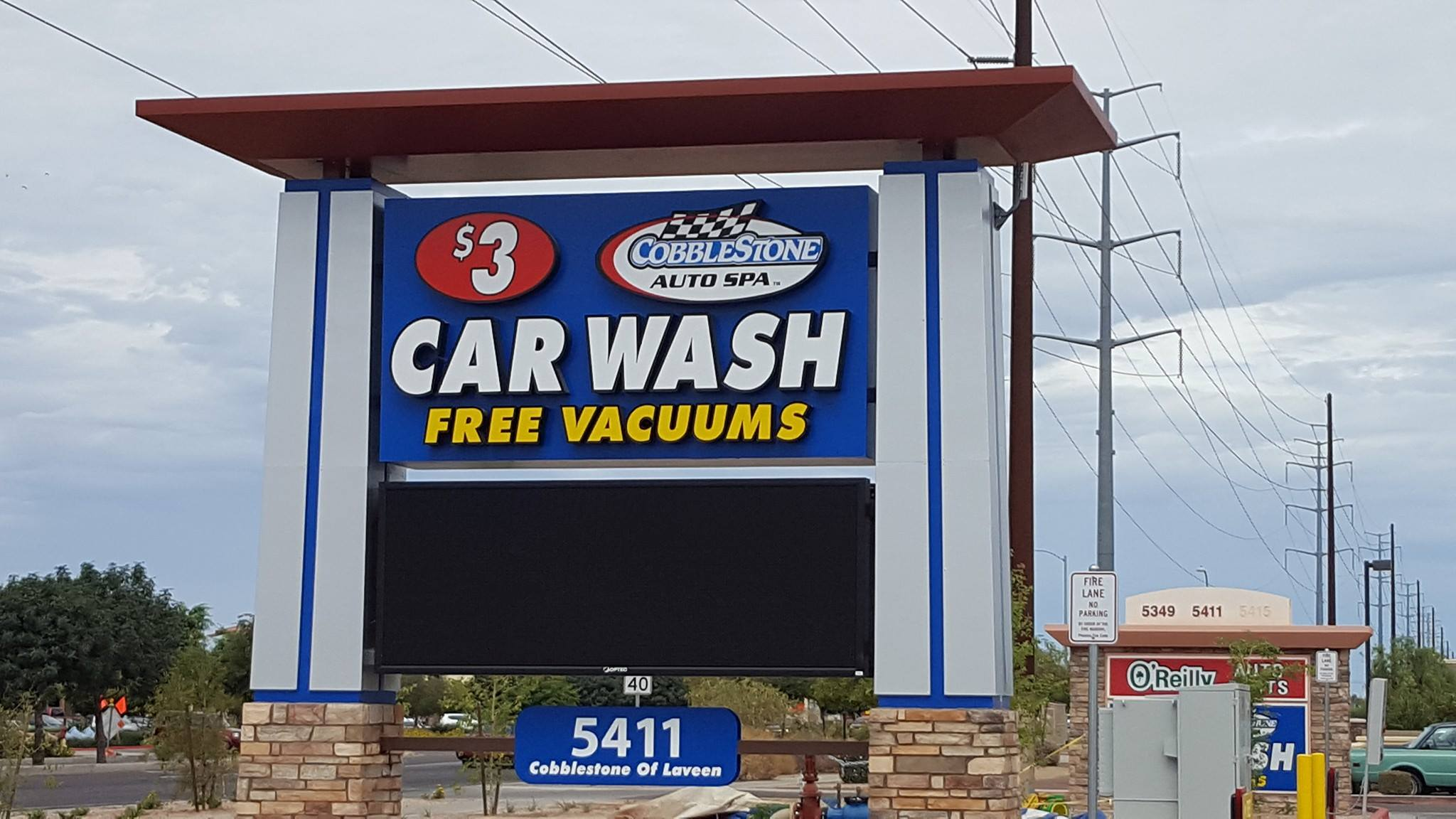 Cobblestone Car Wash : Free dog safety program backpack drive and discounts top