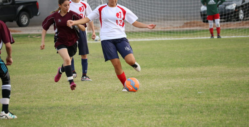 Heritage Academy in Laveen soccer