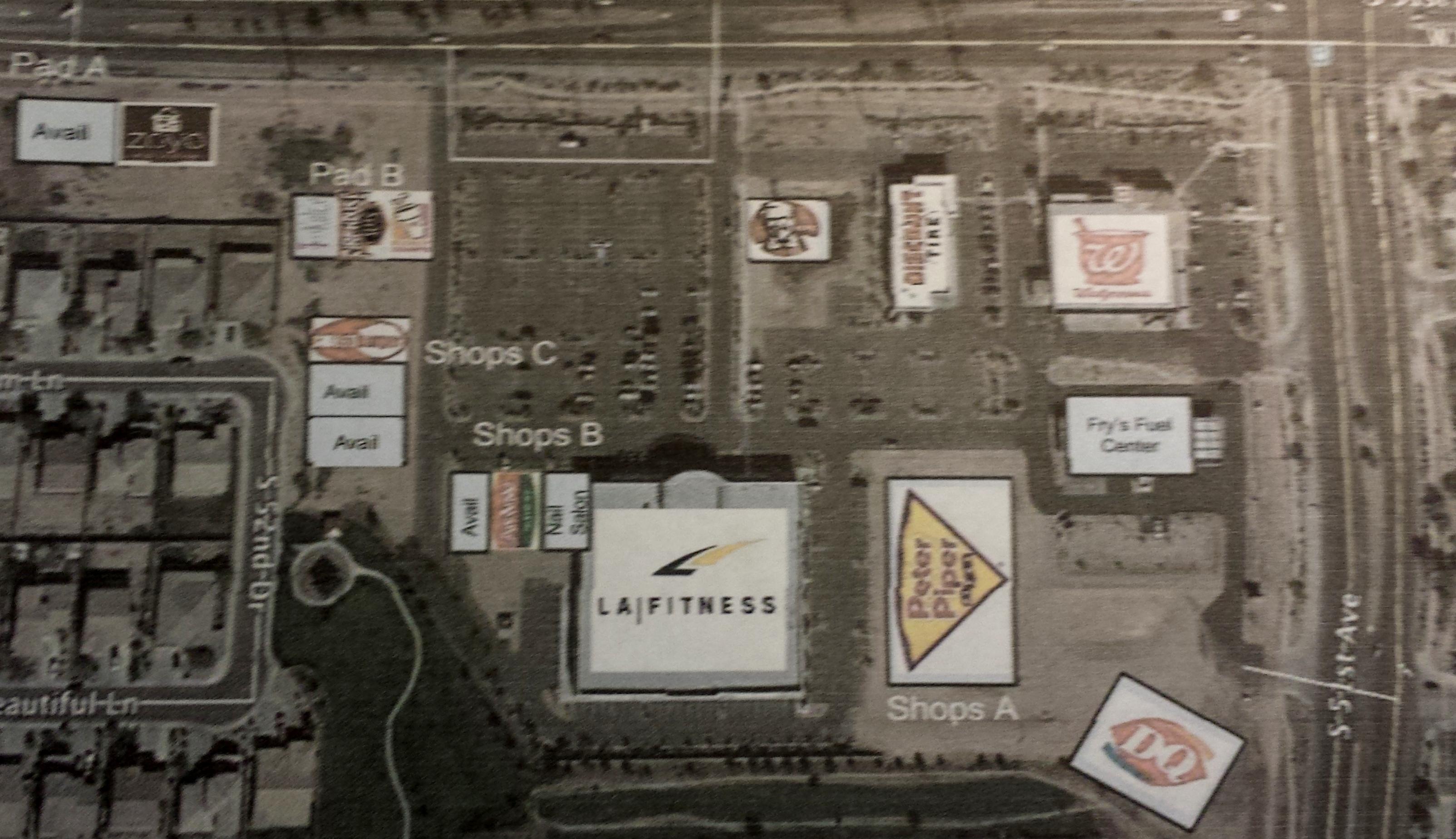 View of development in Laveen AZ