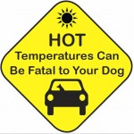 Laveen Veterinarian Center warns owners about leaving their pets in hot cars.