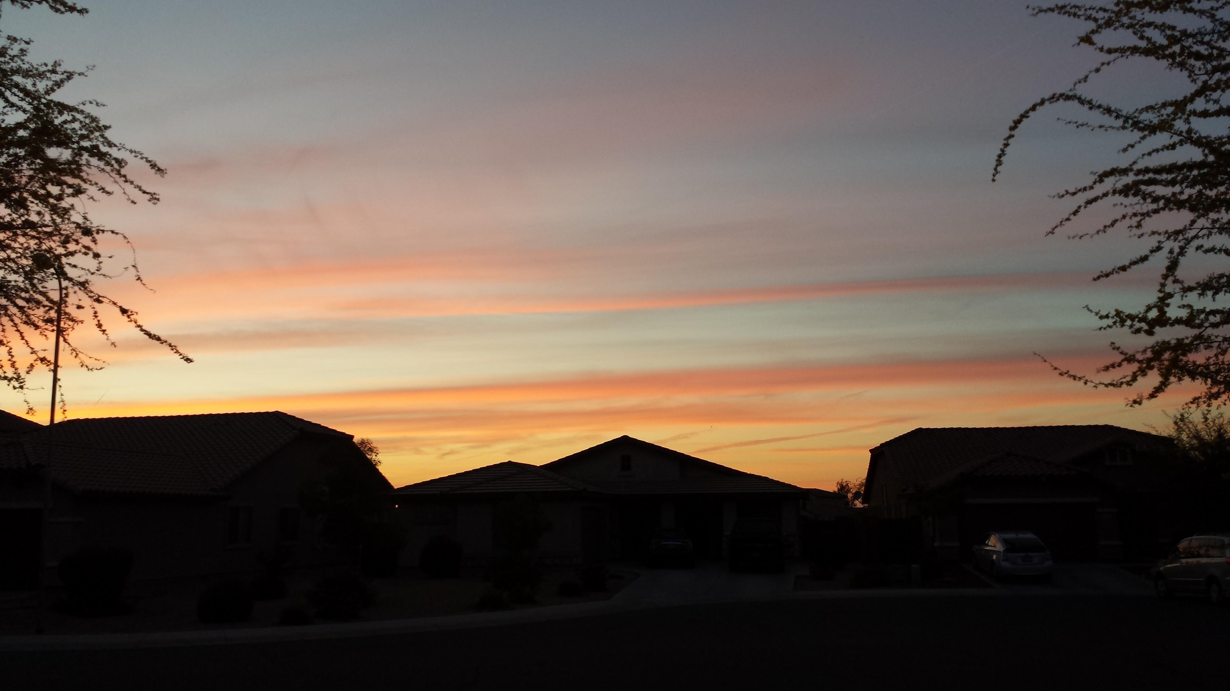 Sunset in Laveen, Arizona
