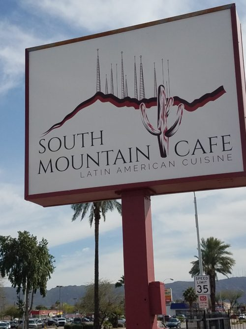 South Mountain Cafe sign