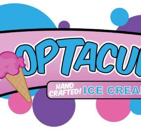 Laveen-based Scooptacular ice cream logo.