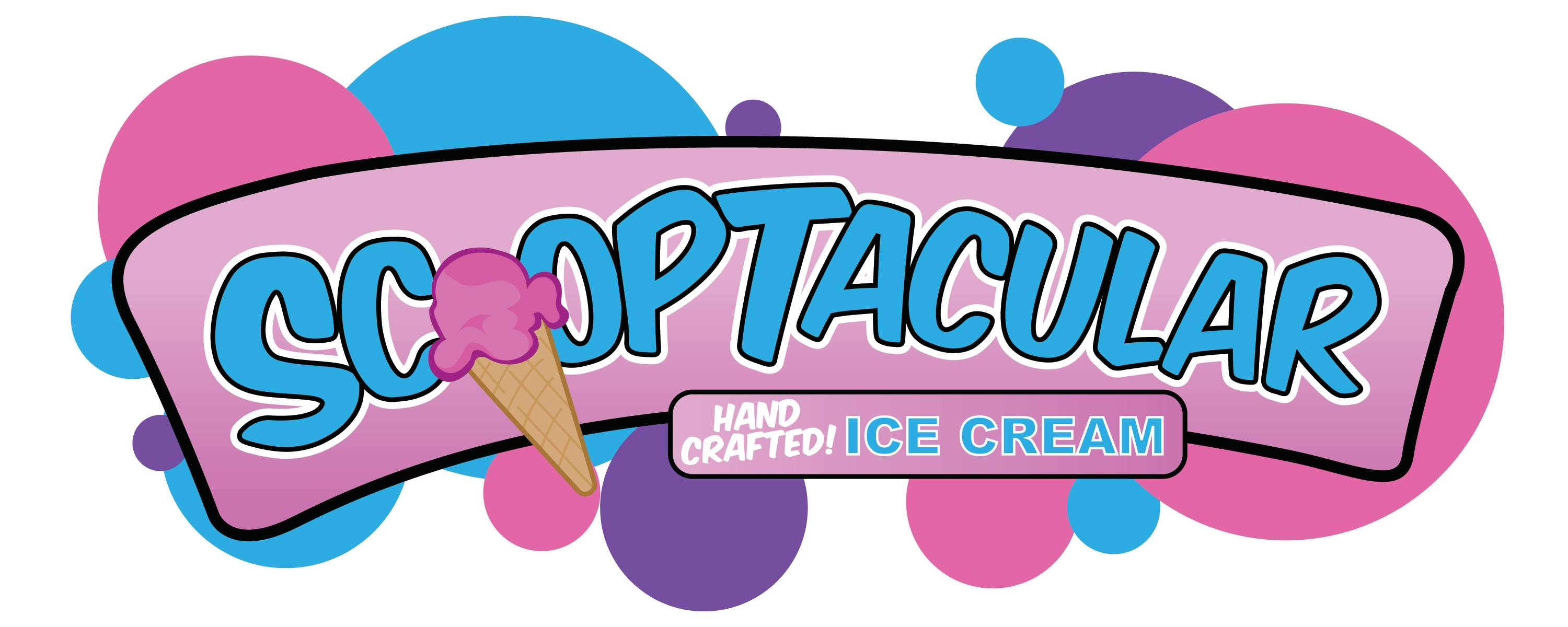 Laveen-based Scooptacular ice cream logo.