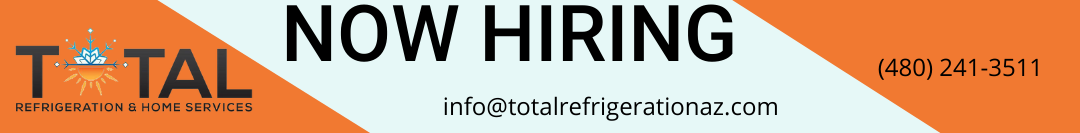 Employment ad for Total Refrigeration