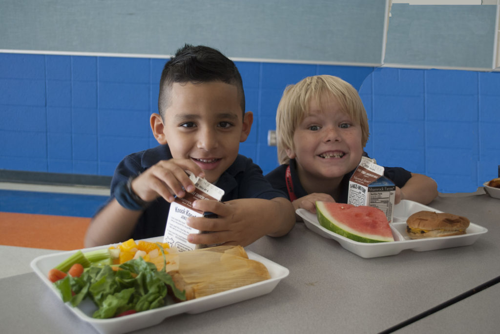Laveen children can eat free at our local high schools and elementary schools during the summer. (Photo Courtesy of LESD)