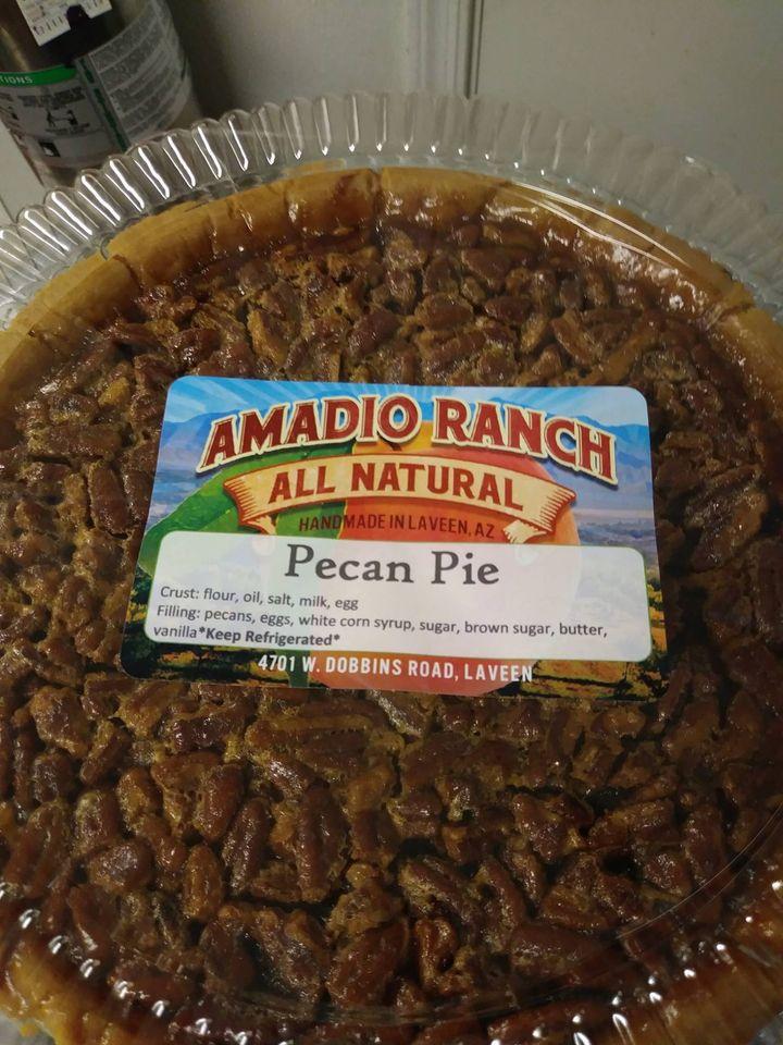 Amadio Ranch Pecan Pie